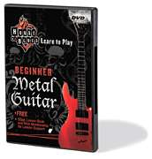 Learn To Play   Beginner Metal Guitar Lessons Rock DVD