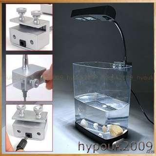 Bright White Blue Aquarium Fish Tank LED Light Lamp 2W