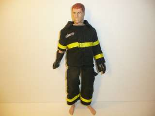 GiJOE Fire Rescue Doll / Action Figure   Fireman 1996