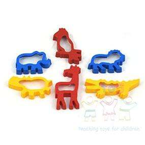 Cookie & Dough Cutters~6 Jungle Animals~ Crafts Cooking