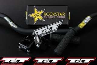 Rockstar Energy pro taper contour fat handlbars suzuki ltr 450 taper