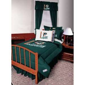 NFL Miami Dolphins Complete Bedding Set Sports & Outdoors