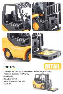 RC Mini Engineering Forklift Remote Control Truck car