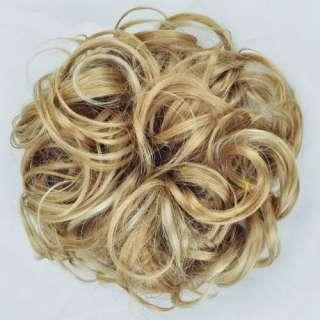 Extra Long Light Golden Blonde Hairpiece Hair Piece Scrunchie Wig