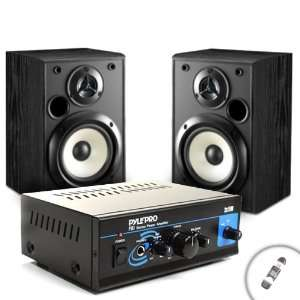 com Mini Stereo 2x15W Power Amplifier with Speaker, Headphone and PA