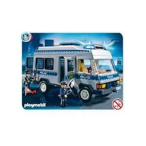 Playmobil Police Transport Vehicle 4023:  Toys & Games