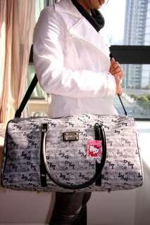 Hello Kitty gray travel bag shoulder bag luggage NEW #1