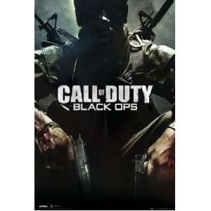 Call of Duty Black Ops XBOX PS3 Video Game Poster 24 x 36