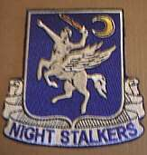 Special Forces aviation 160th patch night stalkers SOAR