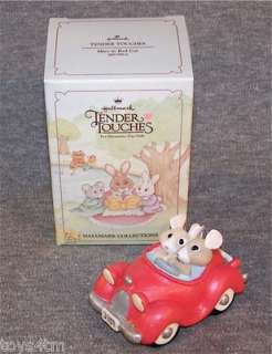 In Red Car NIB Convertible Tender Touches Love Valentines Day