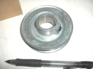 100s V Belt Pulley NEW Zinc Die Cast 3 1/2 Bore Sizes 1/2 5/8 3/4