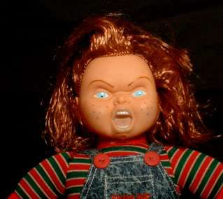 Chucky Doll   Antique Haunted Halloween Prop *SALE* price till mid May