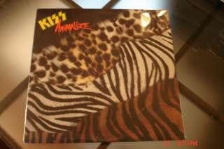 KISS ANIMALIZE vinyl LP record VG CONDITION