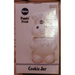 Pillsbury Doughboy Cookie Jar 12 Tall X 7 Inches Wide