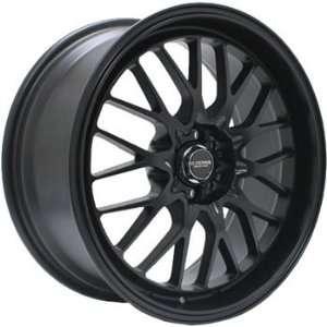 Kyowa Racing 628 Evolve Flat Black Wheel with Painted Finish (18x8